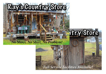Country Store Postcard