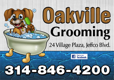 Oakville Pet Grooming Sign