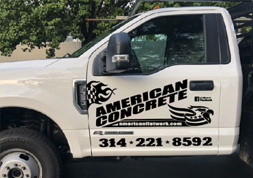 Vinyl Graphics on Truck