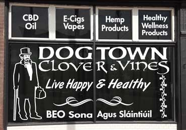 Vinyl Graphics for a store in Dogtown